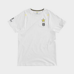 ROCKSTAR FACTORY TEAM TEE WHITE